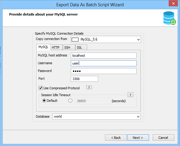 Wizard driven compressed Backups with Scheduling | Schedule backup