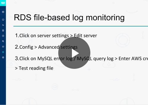 Webinar - Real-time monitoring and RDS file-based log monitoring